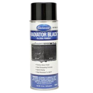 Eastwood Gloss Black – Radiátor fényes fekete aeroszol 340g