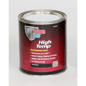 POR-15® Selyemfényű fekete extrém hőálló festék 236ml
