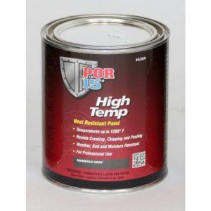 POR-15® Kipufogó szürke extrém hőálló festék 236ml